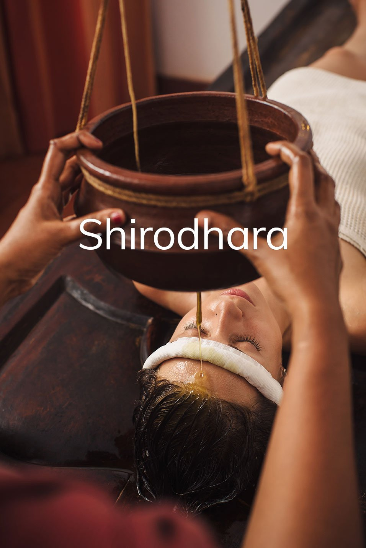 shirodhara - versement huile - centre ayurvédique Beaune